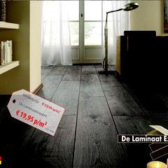 kronotex mammut everest oak, laminaat inclusief leggen met ondervloer en plinten, vloer en vloeren op maat tijdloos laminaatdesign de expert op laminaatgebied, donkere ijken laminaat