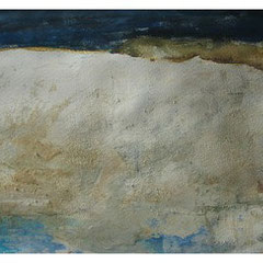 White Cliffs of Dover, Mischtechnik 30x40 cm