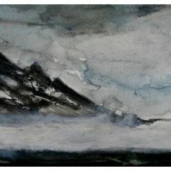 Norwegen, Aquarell 40x60 cm