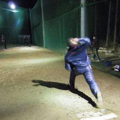 ピッチング練習3