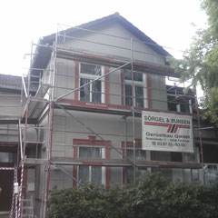 Vorher, Fassadensanierung in Reinbek, 2015