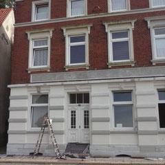 Fassadenanstrich, Fassadensanierung in Lauenburg, 2015