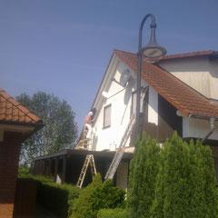Lackieren von sämtlichen Holzflächen inkl. Dachholz, Holzschutz und Pflege in Barsbüttel, 2014