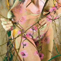 -2-N&R-Peinture sur corps-Photographie sur toile -160x106-Ed limitée 5 exemplaires/ 50x70 de 10 exemplaires