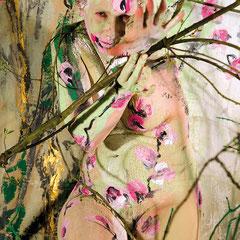 -3-N&R-Peinture sur corps-Photographie sur toile ou Plexiglas- 50x70-Ed limitée  10 exemplaires