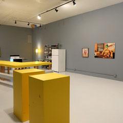 Ausstellungsansicht (nach der Performance), Foto: Veronika Merklein