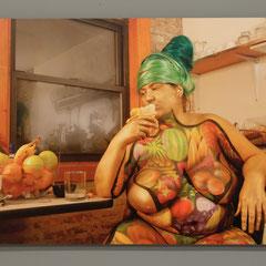 Goddess II, Fotografie (matt, matt foliert, aufgezogen), 120x80cm, Dokumentationsfoto: Veronika Merklein, Foto: Rebecca Memoli
