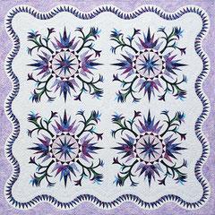 Cactus Rose quiltworx pattern