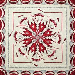 Vintage Rose queen size quiltworx pattern