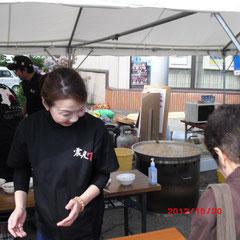 でっかい鍋が、1県3つはありました。