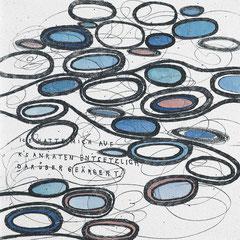 Kristin Finsterbusch, In meinem Kopf des Nachts, Seite 15 von 21 Seiten, Tiefdruck, vernis mou, Aquarell, 2007, 15 x 15 cm, Auflage 10