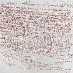 Kristin Finsterbusch, In meinem Kopf des Nachts, Seite 12 von 21 Seiten, Tiefdruck, vernis mou, Aquarell, 2007, 15 x 15 cm, Auflage 10