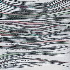 Kristin Finsterbusch, In meinem Kopf des Nachts, Seite 16 von 21 Seiten, Tiefdruck, vernis mou, Aquarell, 2007, 15 x 15 cm, Auflage 10