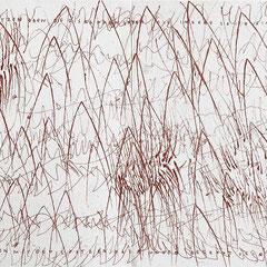 Kristin Finsterbusch, In meinem Kopf des Nachts, Seite 10-11 von 21 Seiten, Tiefdruck, vernis mou, Aquarell, 2007, 15 x 15 cm, Auflage 10