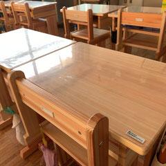 浅川小学校児童机・椅子