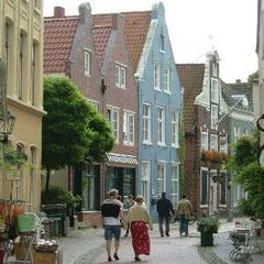 Altstadt Leer , lieblich, niedlich, freundlich .