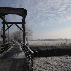 Der Weg geht über die Tobiasbrücke und weiter ....