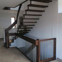Kinderschutztürchen passend zur Treppenanlage