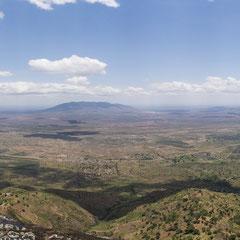 Irente Viewpoint - Blick auf Massai Ebenen - Steilabbruch 1000 m