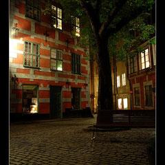 Gamla Stan bei Nacht