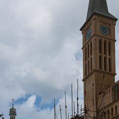 Stone Town/St. Joseph Cathedral/ehemaliger Sklavenmarkt