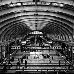 Bahnhofshalle Stockholm