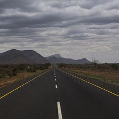 Straße Moshi/Usambara Berge