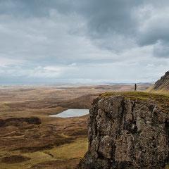 allein auf Insel Skye