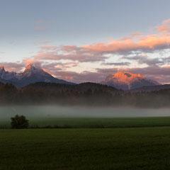 Berchtesgadener Land - Sonnenaufgang Watzmann