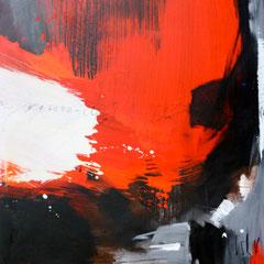 Aufstrebend   Acryl auf Leinwand    100 x 120 cm