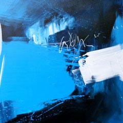 Seelen Tiefe     Acryl auf Leinwand   80 x 120 cm