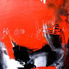 Kontrast     Acryl auf Leinwand     120 x 100 cm