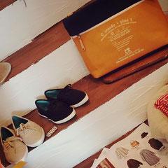 靴やバッグ、財布も トータルでチョイスできるのが嬉しい♪