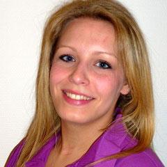 Frau S. Müller, Standortleitung Hainstr. 7, med. Fachangestellte