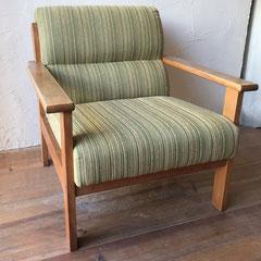 肘掛椅子張替え修理後・尼崎市