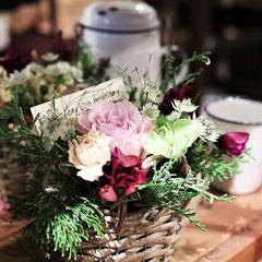 イベントロケ写真 お花とカフェ ラムズイヤー様