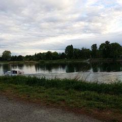 Entspannung am Rhein