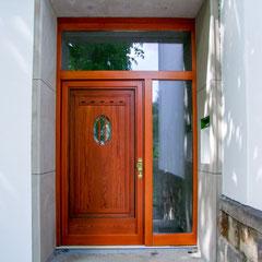 Alte Haustür neu gestaltet