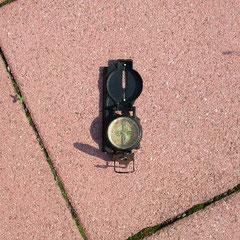 Kompass ohne Stange
