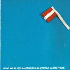 """Cover Katalogbuch """"neue wege des plastischen gestaltens in österreich"""", 1984"""