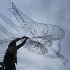 St Gabriel on site installation. © Charles Rocco