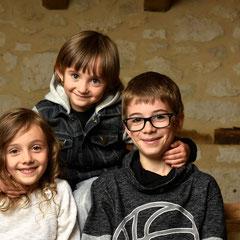 Lola, Léo, Mathis