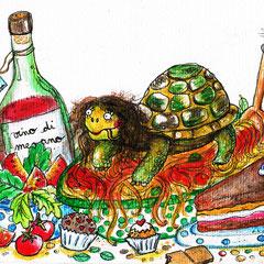 Mya, die italienische Schildkröte