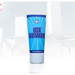 Aufblasebare Werbung in Tubenform