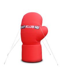 Logo aufblasbar Inflatables Werbung in Sonderform