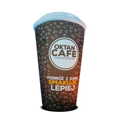 Kaffeebecher im Kundendesign Aufblasbare Werbung in Sonderform