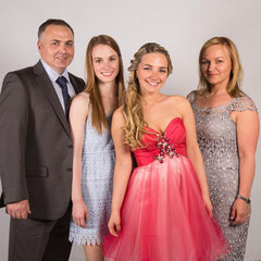 Familienfoto Abiball Fotografie Studio keine Vorkosten