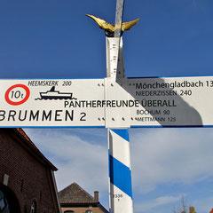 Schild in Bronkhorst