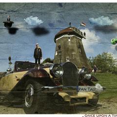 in Erinnerung an Rene Magritte: Pan tau oder Pan Ray