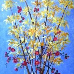 2010 - Primavera - olio su tela - 100x40 cm - collezione privata